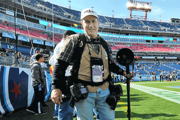 Interview with Pro Sports Photographer Don McPeak