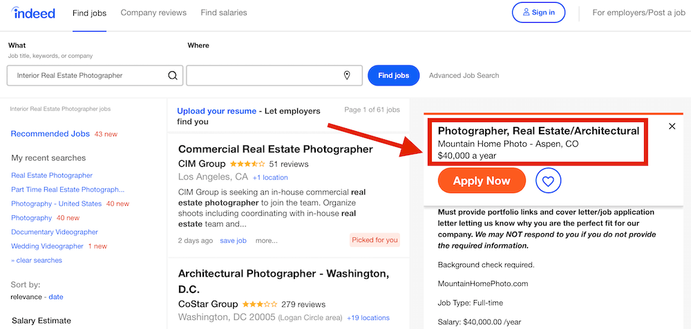 Real Estate Photography Jobs by Pro Photographers | Tiltshots